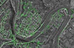 GIS mapping of Leechburg Borough